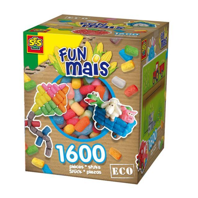 Ses Creative Funmais Eco : Grande boite mix de 1600 pièces