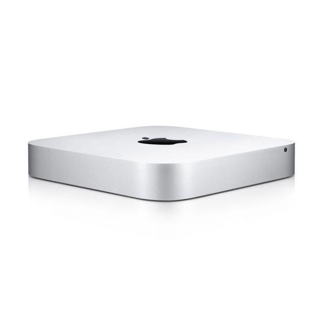 APPLE Mac Mini - MGEN2F/A - i5 2,6GHz - 8Go - 1To Processeur Intel® Core™ i5 bicoeur (2,6 GHz) - Disque dur 1 To - RAM 8 Go - Chipset Intel Iris Graphics - Réseau Ethernet - Wifi a/b/g/n - Ports USB 3.0 - Lecteur de cartes SDXC - macOS Mojave