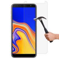 Lapinette - Film Verre Trempé Protection Anti Choc Pour Samsung Galaxy J6 Plus