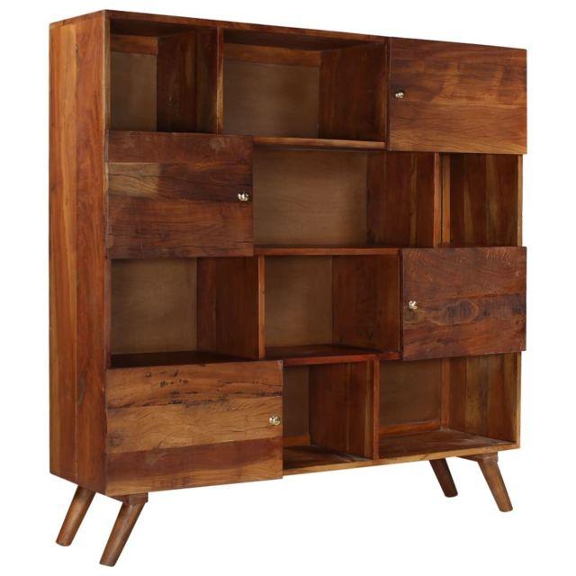 Distingué Armoires & meubles de rangement reference Basseterre Buffet Bois de récupération massif 150 x 40 x 152 cm