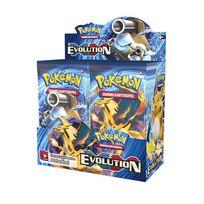 Pokemon Company International - Jeux de société - Pokemon Xy12 Evolution présentoir boosters Dampfkessel 36, ALLEMAND