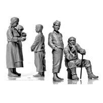 Master Box - Figurines 2ème Guerre Mondiale : Paysans Europe Centrale 1941-1945