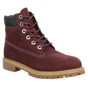 timberland 6in premium velours femme 37 bordeaux rouge pas cher achat vente boots femme. Black Bedroom Furniture Sets. Home Design Ideas