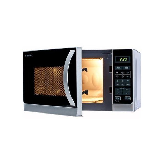 Sharp - Micro-ondes Grill combiné 20L - 800W - Grill 1000W