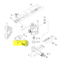 Karcher - Raccord Cote Refoulement reference : 90017460