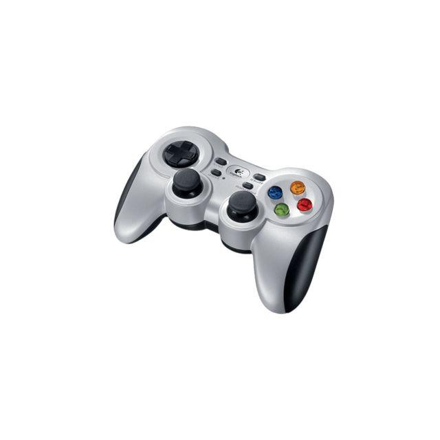 LOGITECH Manette sans fil PC/XBOX 360 F710 S Conçue pour les joueurs sur PC recherchant un contrôleur de jeu sophistiqué, équivalent à ceux des consoles.