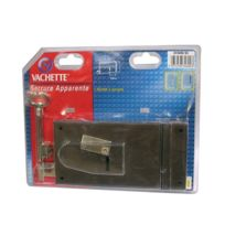Vachette - Serrure de sûreté 4 gorges - horizontale à tirage - gauche