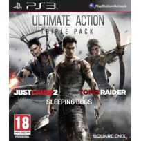 Square Enix - Just Cause 2 et Sleeping Dogs et Tomb Raider