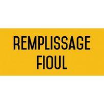 Editions Uttscheid - Remplissage fioul - Autocollant vinyl waterproof - L.200 x H.100 mm