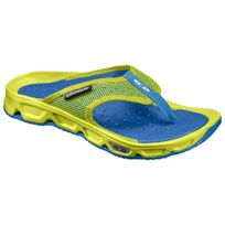 Salomon - Rx Break Tong Verte Lime Et Bleue Chaussures detente
