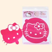 Scrapcooking - 2 Pochoirs Pour Gâteaux Hello Kitty