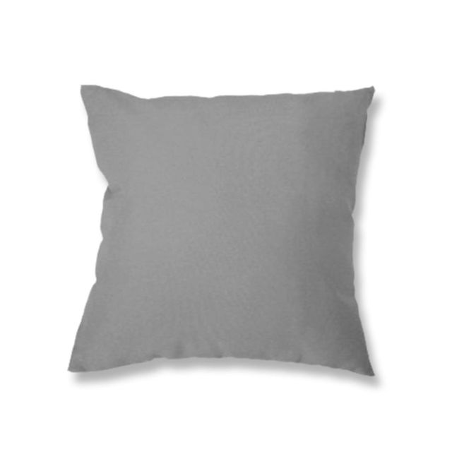 Soleil D'OCRE - Coussin déhoussable 40x40 cm Alix gris