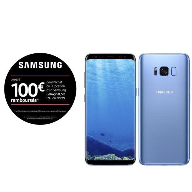 Samsung Galaxy S8 - 64 Go - Bleu Océan pas cher - Achat   Vente ... ea72cd0c087a