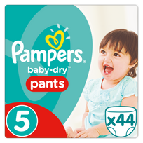 PAMPERS - Easy-Up Culottes - Taille 5 Junior, 12-18 kg - 46 Couches