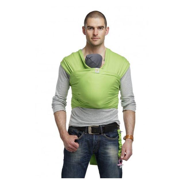 Bykay - Echarpe de portage Vert 5m50 L - pas cher Achat   Vente Porte-bébés  - RueDuCommerce 2a9ecfabc70