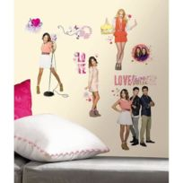 Room Mates - Violetta Stickers Muraux Enfant -4 Planches Repositionnables