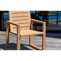 fauteuil jardin bois - Achat fauteuil jardin bois pas cher - Rue du ...