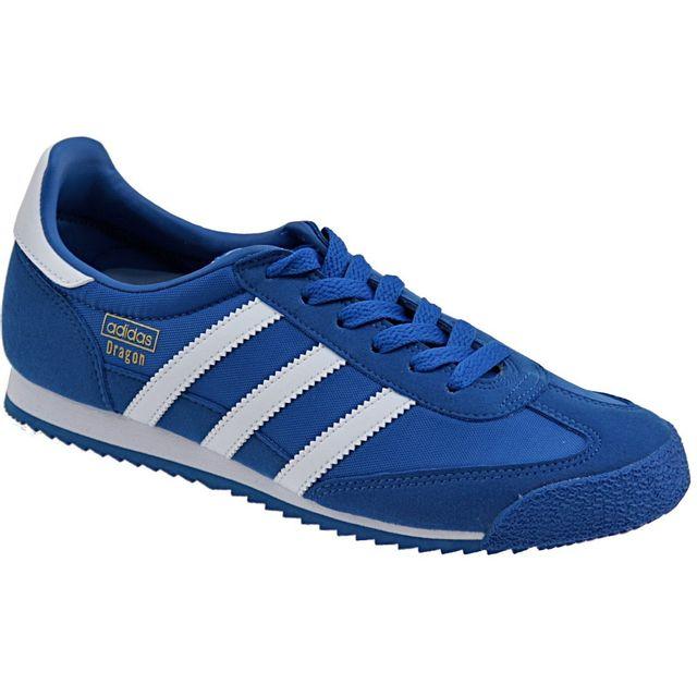 adidas dragon bleu marine pas cher