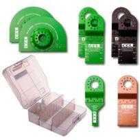 Cel - Kit de lames pour outil multifonction oscillant