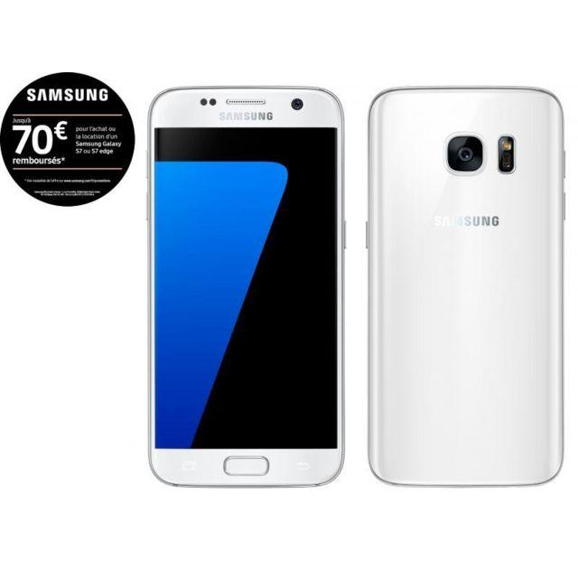 Samsung Galaxy S7 - Blanc