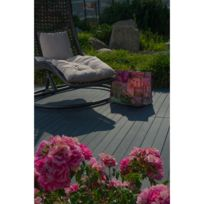 - Planche de terrasse clipsable anthracite