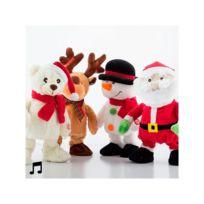 Marque Inconnue - Poupée de Noël qui Chante et qui Danse