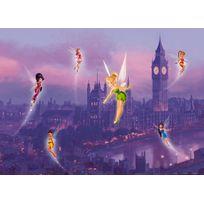 Bebegavroche - Poster Xxl Fée Clochette à Londres Disney fairies 160X115 Cm