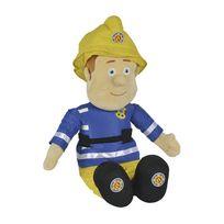 Smoby - Sam le Pompier - Peluche Sam le Pompier 60 cm