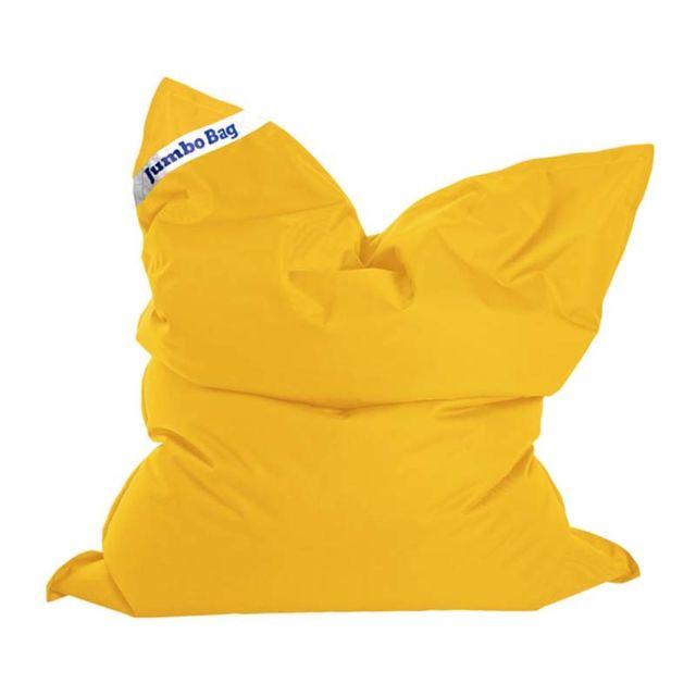 Jumbo Coussin de sol bag jaune