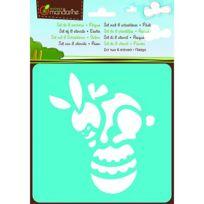 Avenue Mandarine - Pochoirs Set de 6 pochoirs : Pâques