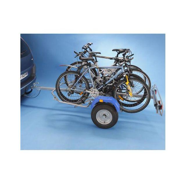 Mottez Remorque Porte Vélos 2 Roues Pour 4 Vélos A354s Fixation