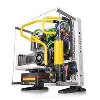 THERMALTAKE - Boitier PC ATX Core P3 Snow Edition - Blanc