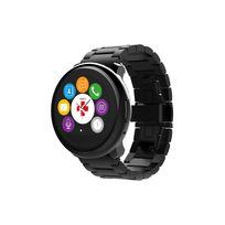 ZeRound Premium - Noir et bracelet métal noir