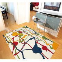 Arte Espina - Tapis Colour Festival Tapis Moderne par Multicolore 140 x 200 cm