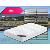 Altobuy - Ibiza - Pack Matelas + AltoZone 120x190