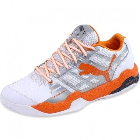d8e172bb735 Puma  strong chaussures  strong  sport en salle vindicate 1.2 blanc homme