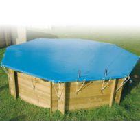 UBBINK - Bâche hiver pour piscine bois Azura 2,00 x 3,50 m