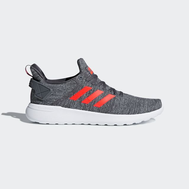 08e974e3c2f31 Adidas - CLOUDFOAM LITE RACER BYD Baskets Homme GREY FIVE F17 SOLAR  RED FTWR WHITE - 43 1 3 - pas cher Achat   Vente Chaussures running -  RueDuCommerce