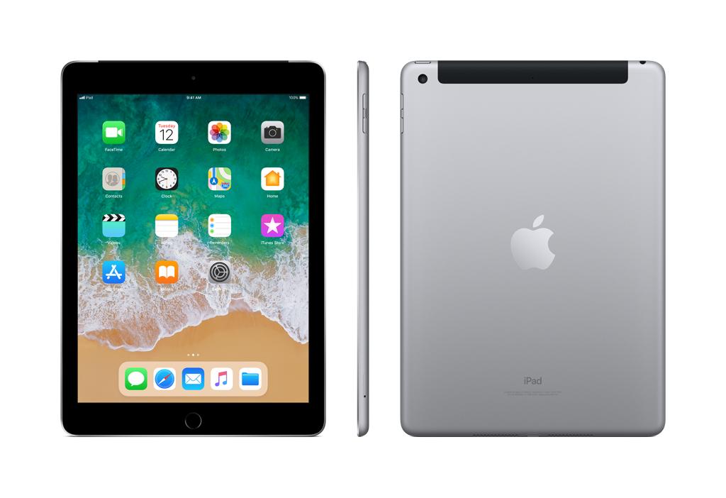 iPad - 9,7'' - 32 Go - Wifi + Cellular - MP1J2NF/A - Gris Sidéral