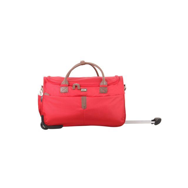 en soldes fe6c8 fb120 CARREFOUR - Sac à roulettes CLASSIQUE CHIC- 56 cm - Rouge ...
