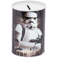 Disney - Tirelire Métal Licence Décor Stars Wars Garde Impériale Etoile Noire