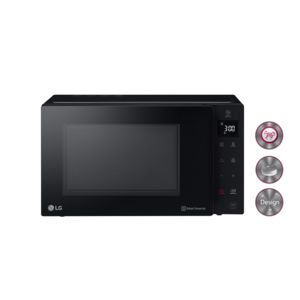 lg micro ondes 25l 1000 w pose libre noir achat four micro onde. Black Bedroom Furniture Sets. Home Design Ideas
