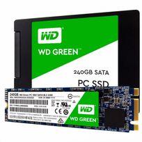 "WESTERN DIGITAL - SSD interne WD Green 240 Go 2,5"" 7mm cased SATA III 6 Gbits/s"