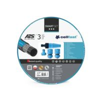 "Cellfast - Smart Set - Tuyau D'ARROSAGE 20 m - 1/2"" - 4 Buses"