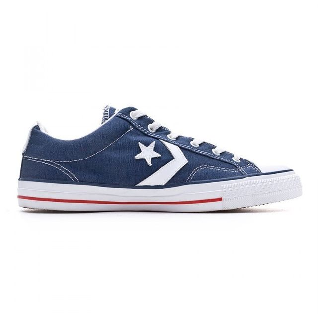 ef030fb26fe Converse - Star Player-Evergreen Navy-White - pas cher Achat   Vente  Baskets homme - RueDuCommerce