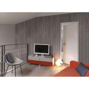 grosfillex - lambris pvc loft savane - dim. : lames de l.260 x l ... - Grosfillex Lambris Pvc Salle De Bain