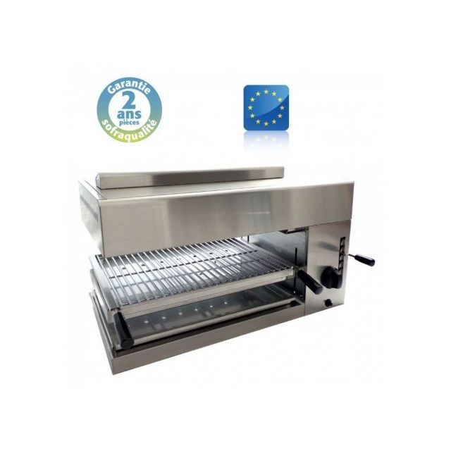 Sofraca Salamandre Professionnel de Cuisine L75 - Gaz - Base mobile 24086