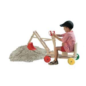 Autre gaspo pelleteuse jouet en bois pour enfants for Jouet exterieur 1 an