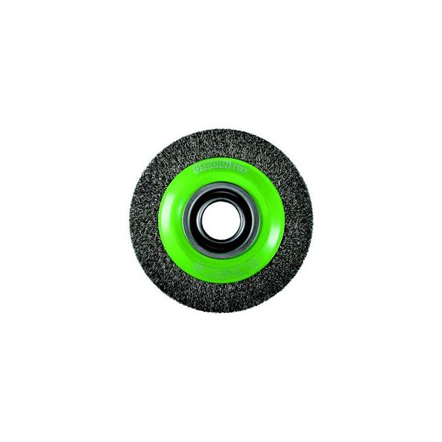 Osborn - Brosse circulaire, fil acier inox ondulé à plusieurs rangs, agressives diamètre 200 mm 566361-9902