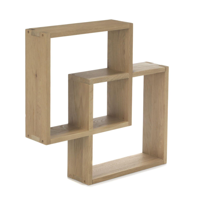alin a tassia tag re cube murale en ch ne pas cher achat vente etag res rueducommerce. Black Bedroom Furniture Sets. Home Design Ideas